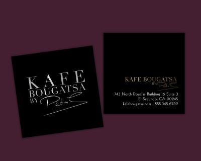 classy soft touch business cards2